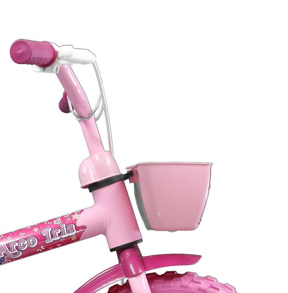 Bicicleta Track Bikes Arco Iris Infantil Aro 12 Seminova