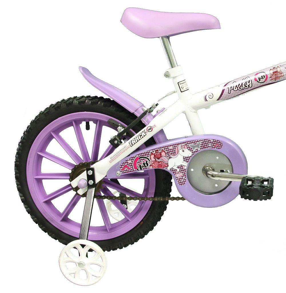 Bicicleta Track Bikes Pinky Infantil Aro 16
