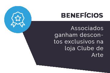 Benefícios de ser associado do Clube de Arte