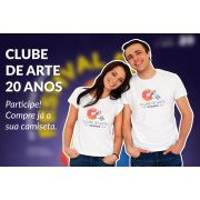 CAMISA  CLUBE DE ARTE 20 ANOS
