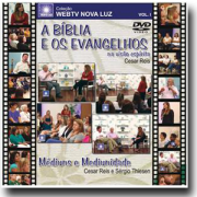 DVD - Cesar Reis e Sergio Thiesen - A Bíblia e os Evangelhos Segundo o Espiritismo