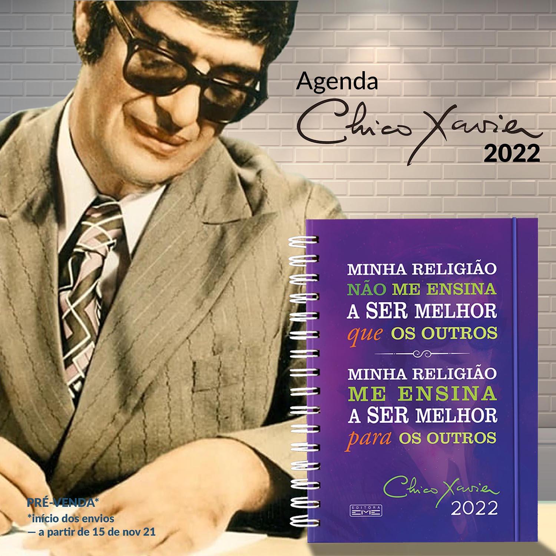 Agenda CHICO XAVIER 2022 | Pré-venda
