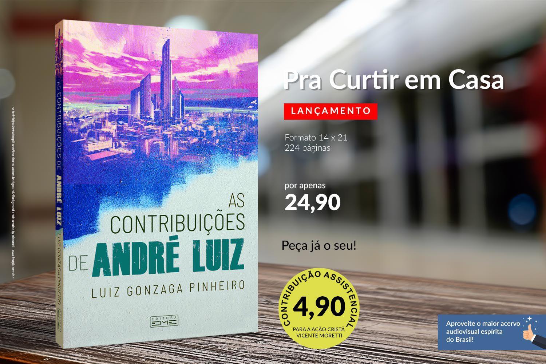 Livro - As Contribuições de André Luiz | Luiz Gonzaga Pinheiro