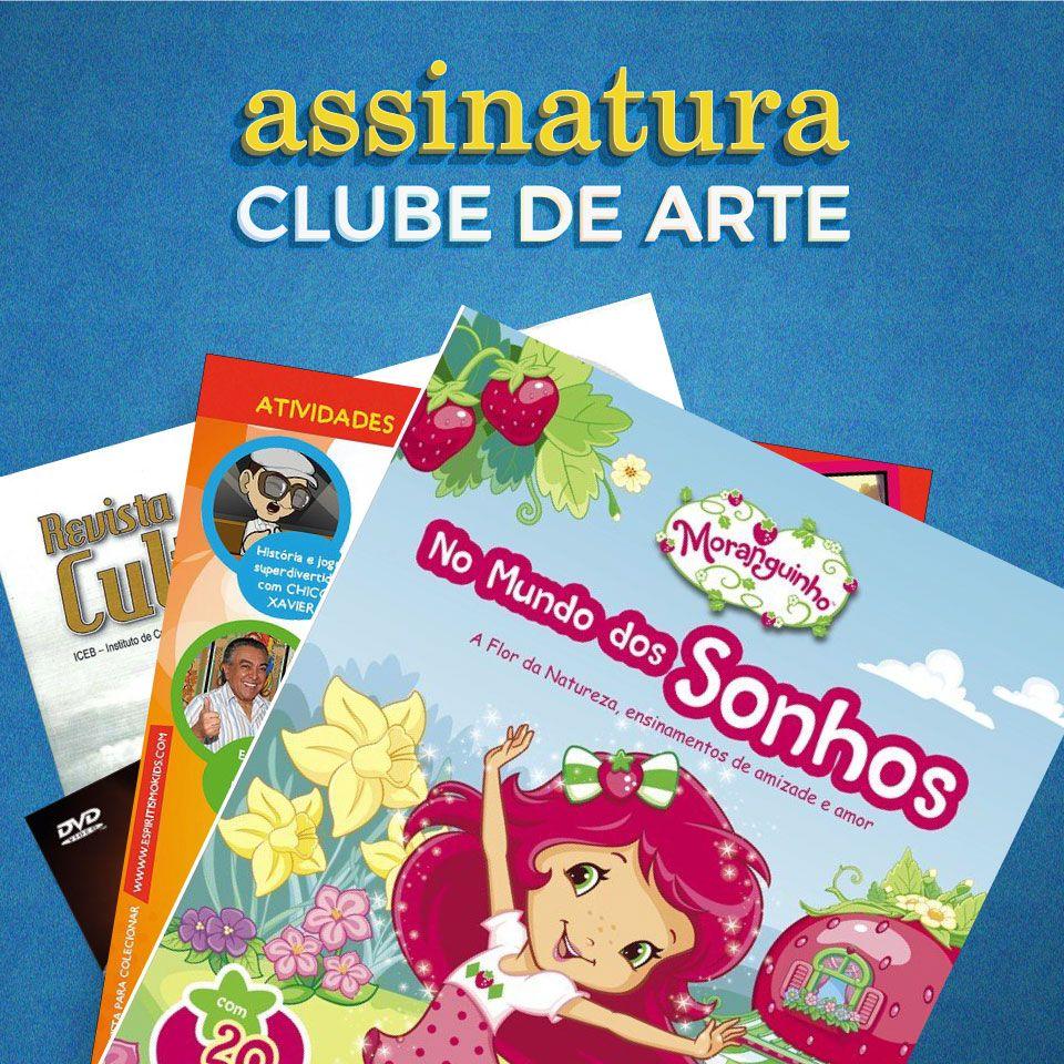 Assinatura mensal Clube de Arte