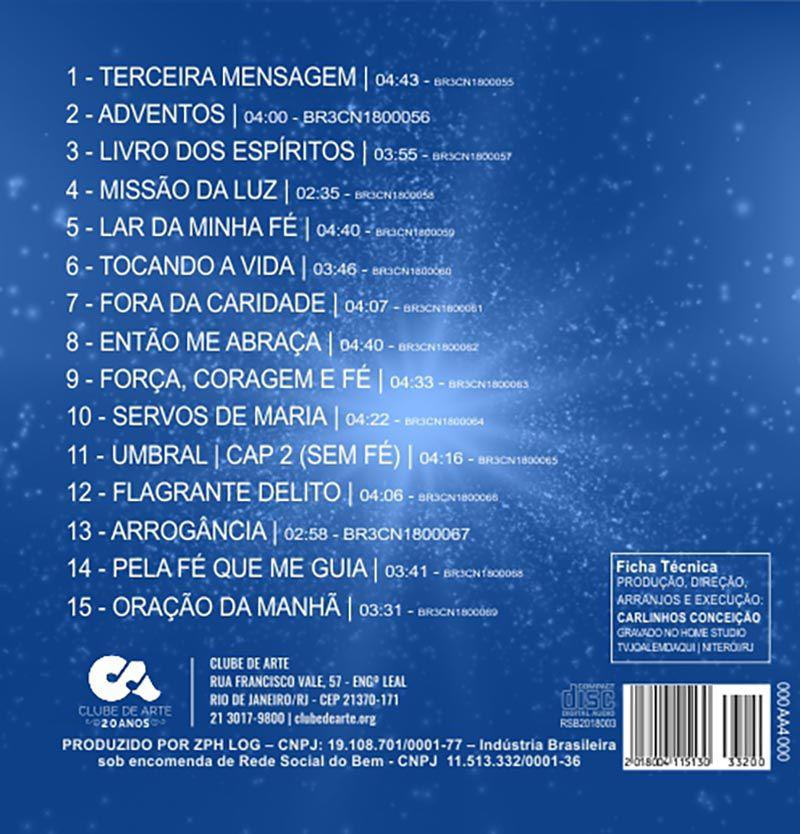 CD | Carlinhos Conceição - Terceira Mensagem