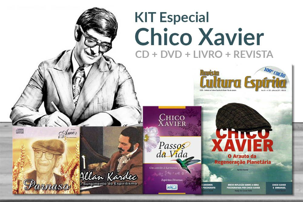KIT - Especial Chico Xavier