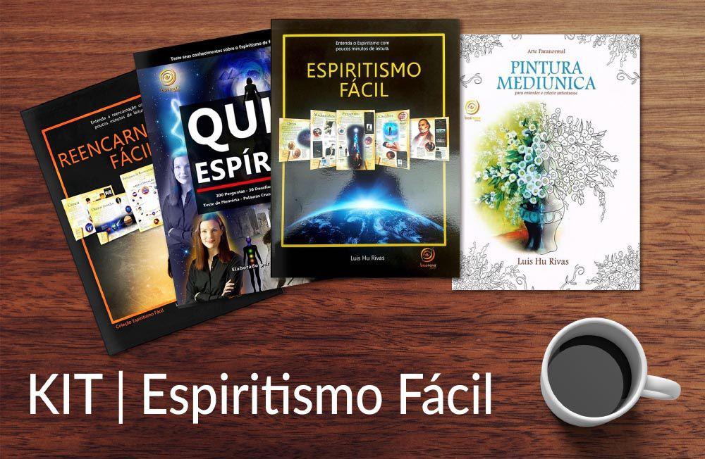 KIT - Espiritismo Fácil - Luiz Hu Rivas