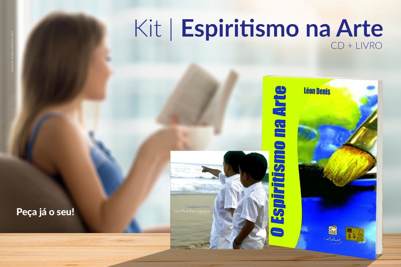 KIT | ESPIRITISMO NA ARTE