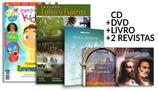 KIT | Espiritismo, Um projeto do Cristo