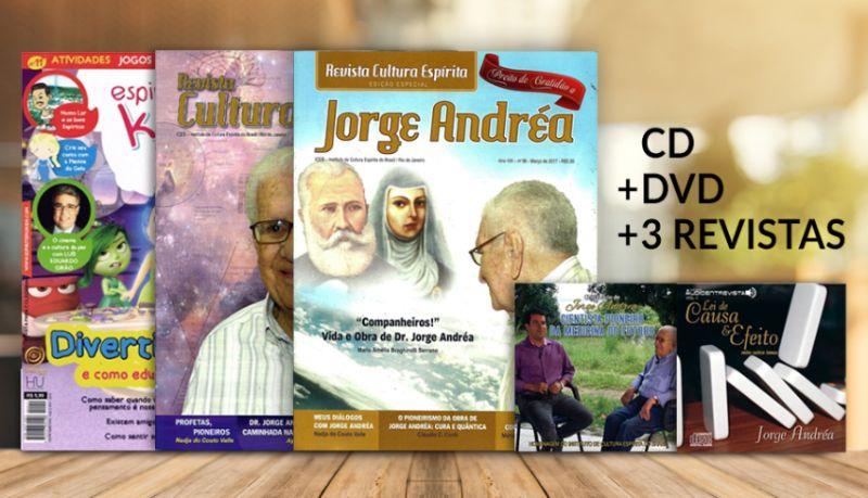 KIT | Homenagem a Jorge Andréa
