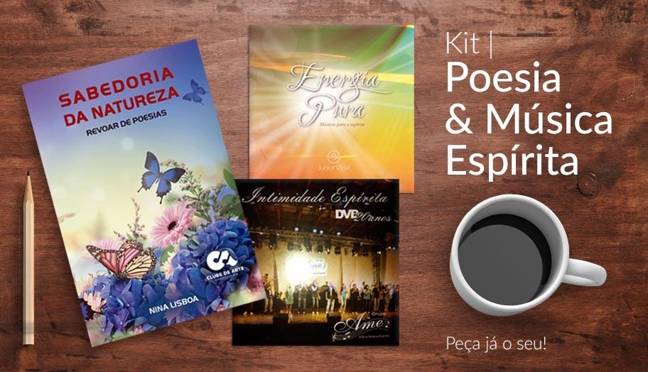 Kit Poesia e Música Espírita