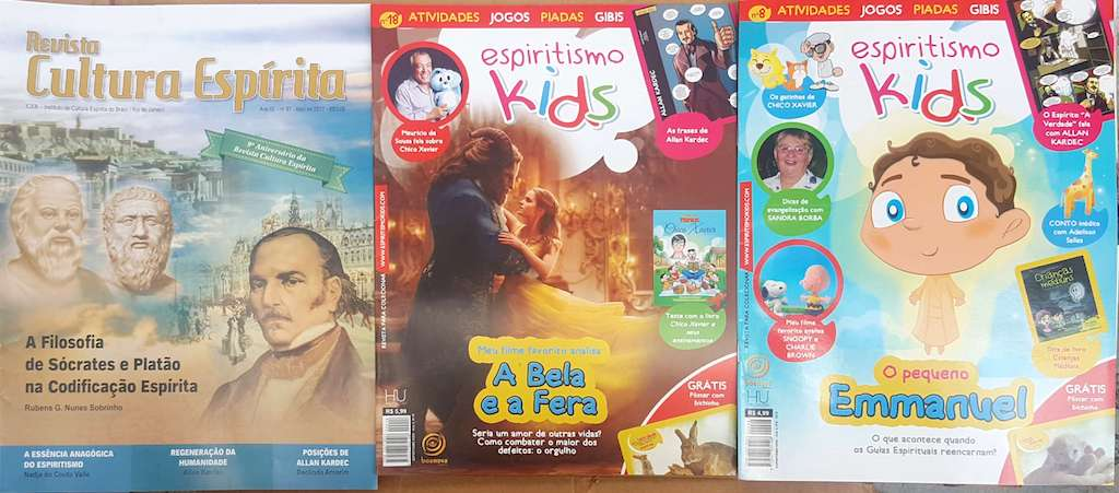 Kit - Revista Espiritismo Kids 01