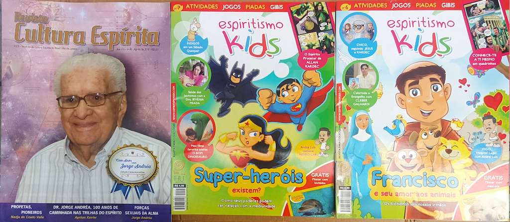 Kit - Revista Espiritismo Kids 03