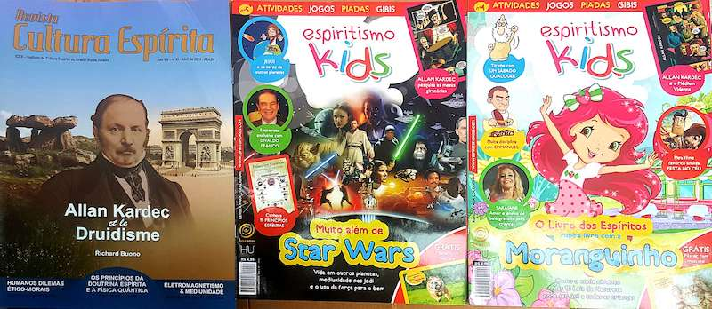 Kit - Revista Espiritismo Kids 04