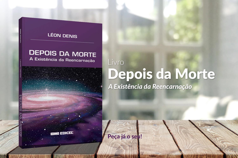 LIVRO - DEPOIS DA MORTE - LÉON DENIS