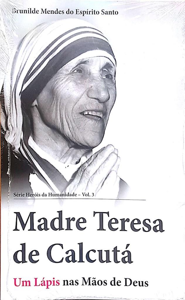 Livro - Brunilde Mendes do Espírito Santo - Madre Teresa de Calcutá
