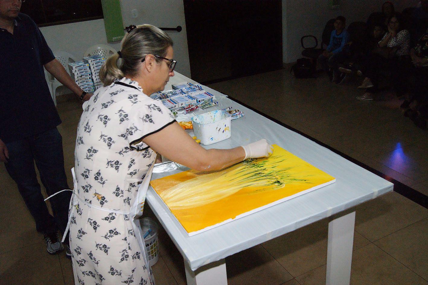 Pintura Mediúnica 02   Eunice Santos
