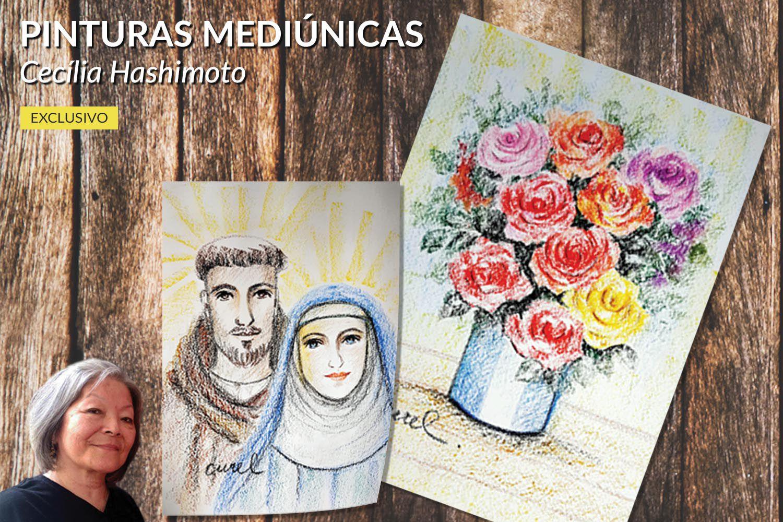 Pinturas Mediúnicas | Cecília Hashimoto