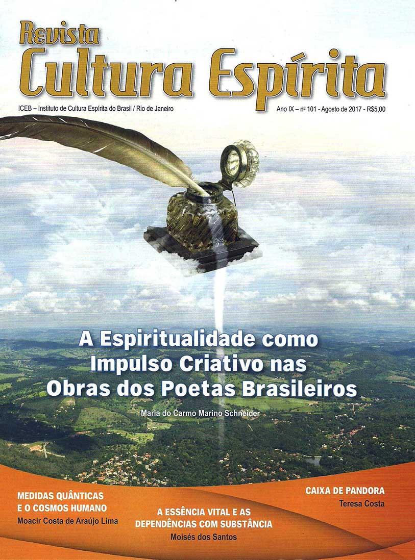 Revista Cultura Espírita 101 - A Espiritualidade como Impulso Criativo nas Obras Poéticas Brasileiras