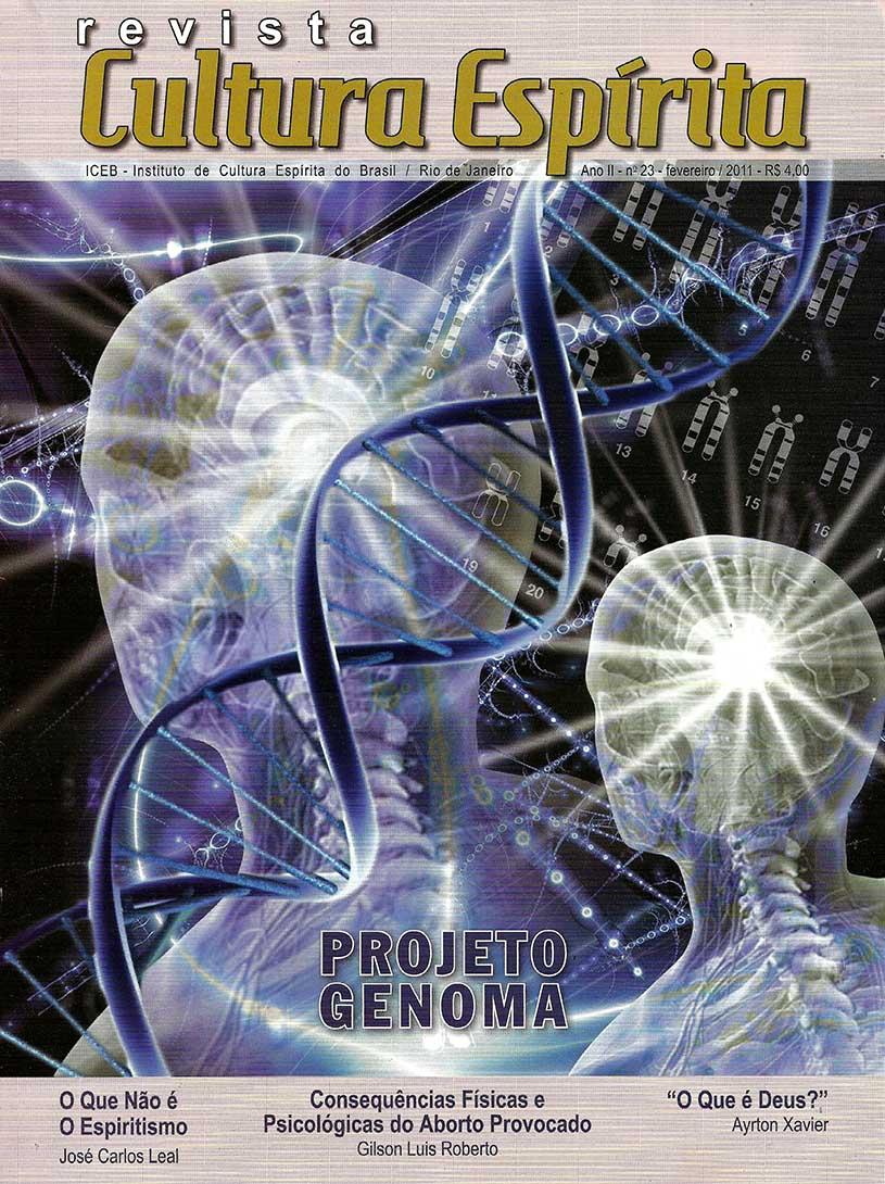 Revista Cultura Espírita 23 - Consequências Físicas e Psicológicas do Aborto Provocado
