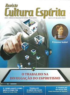 Revista Cultura Espírita 74 -  O Trabalho na Divulgação do Espiritismo