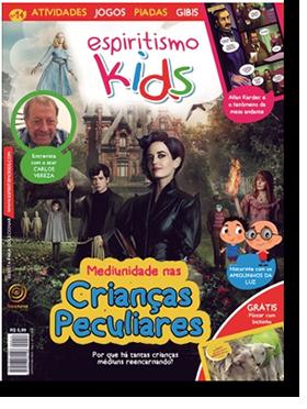 Revista Espiritismo Kids 14 - Mediunidade nas Crianças Peculiares