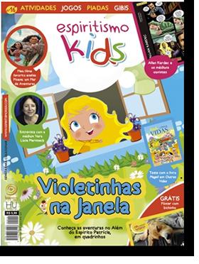Revista Espiritismo Kids 16 - Violetinhas na Janela