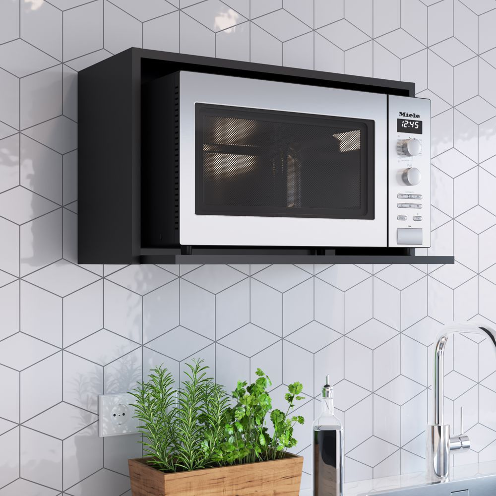 Aéreo Nicho para forno e microondas 60x36cm Funcionale AE060 Mia Coccina