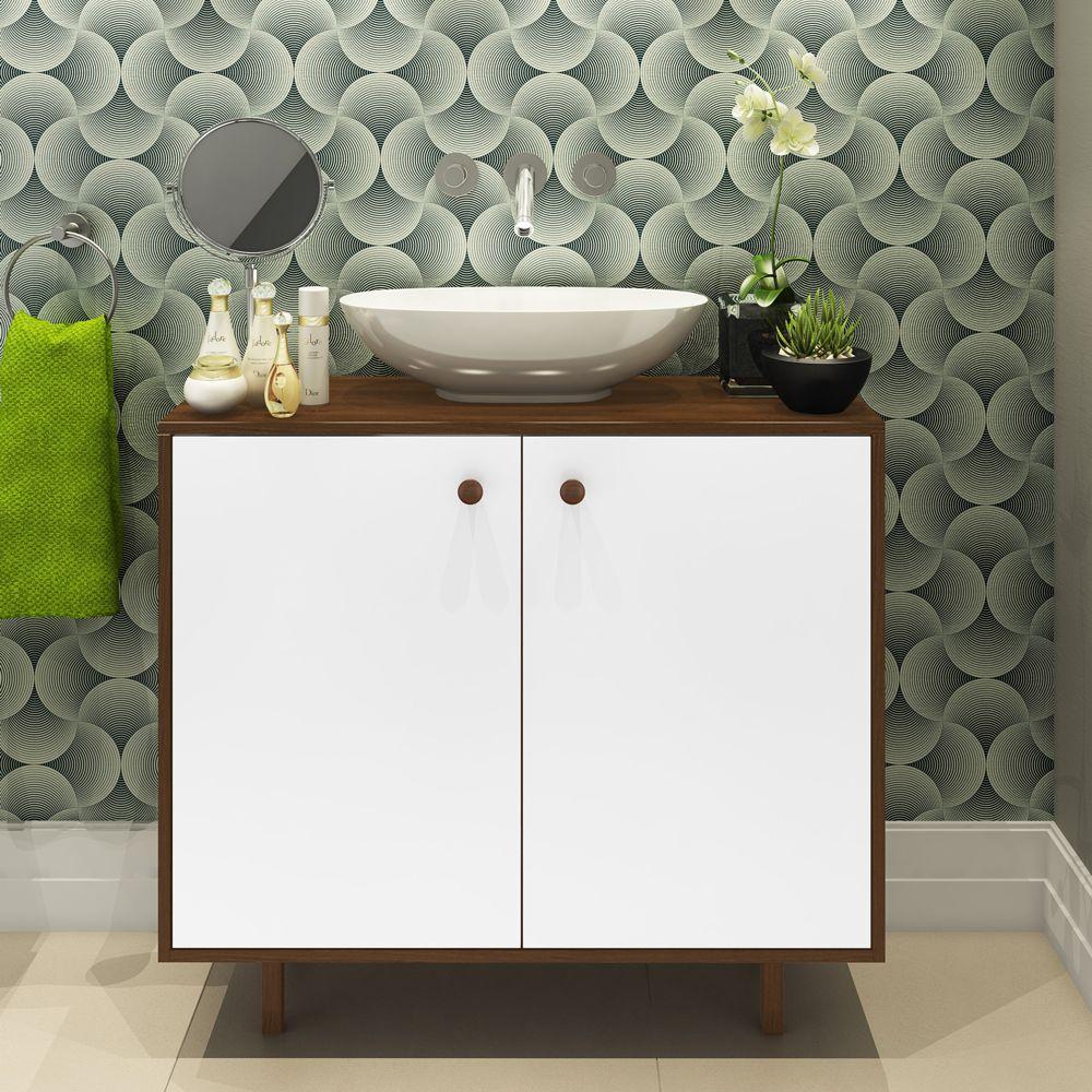 Aparador Banheiro Multiuso 2pts Gótic BRB52 Estilare