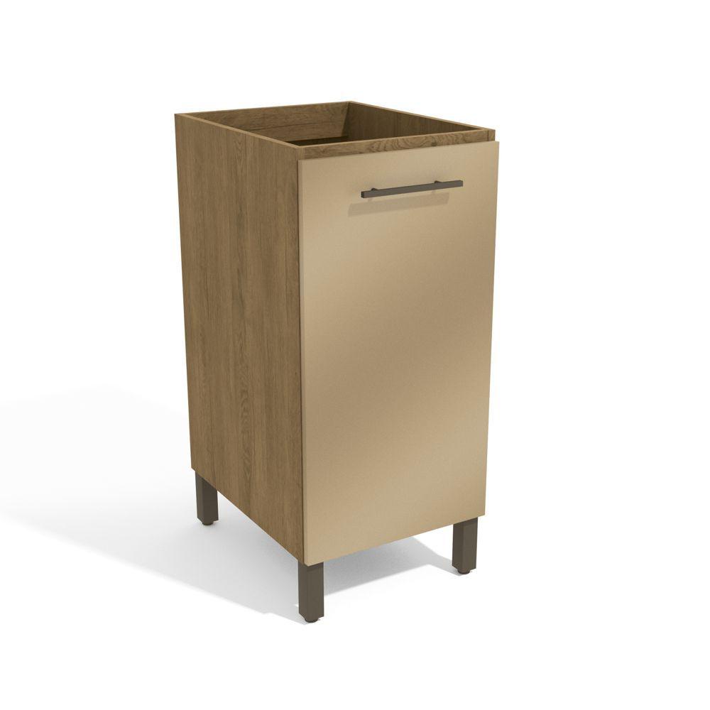 Armário de Cozinha 40cm Balcão 1 Porta H721  Áurea Kappesberg