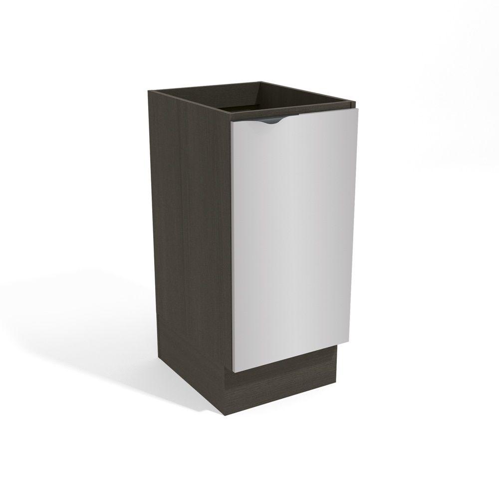 Armário de Cozinha 40cm Balcão 1 Porta H761 Nox Kappesberg