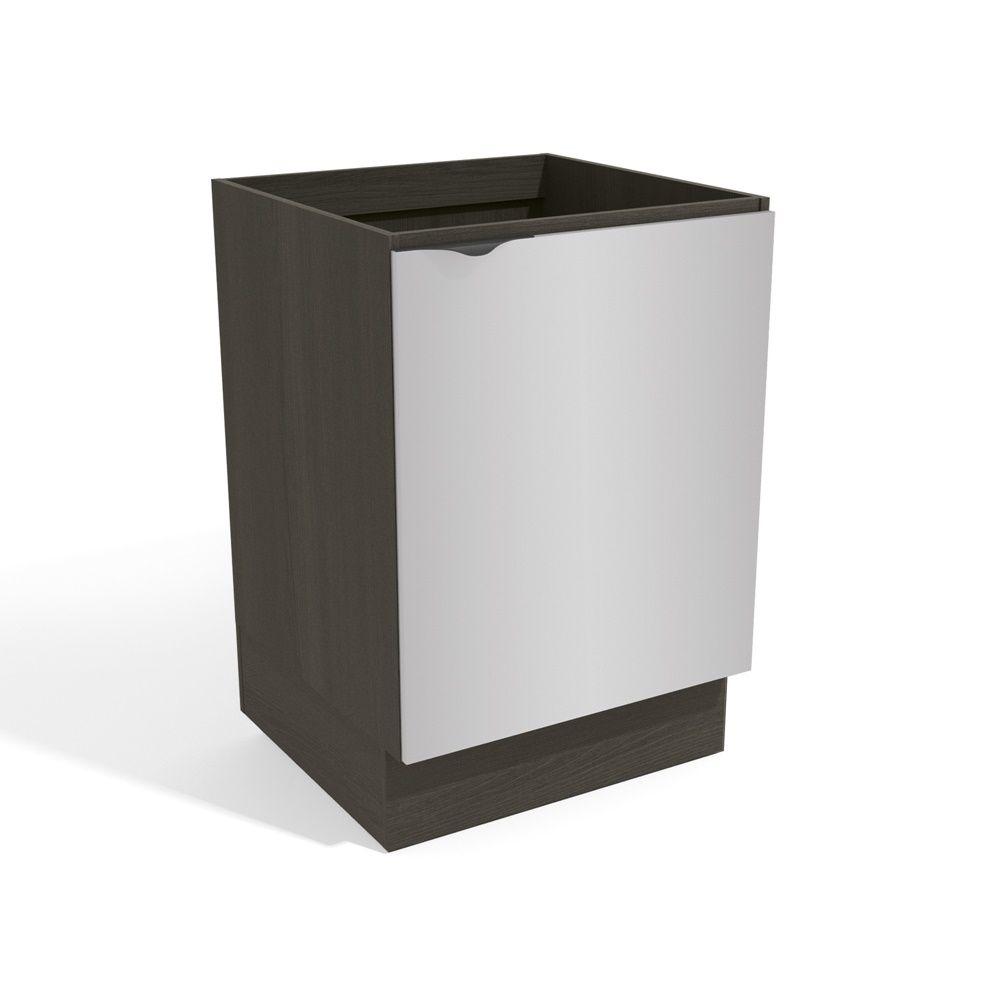 Armário de Cozinha 60cm Balcão 1 Porta H762A Nox Kappesberg