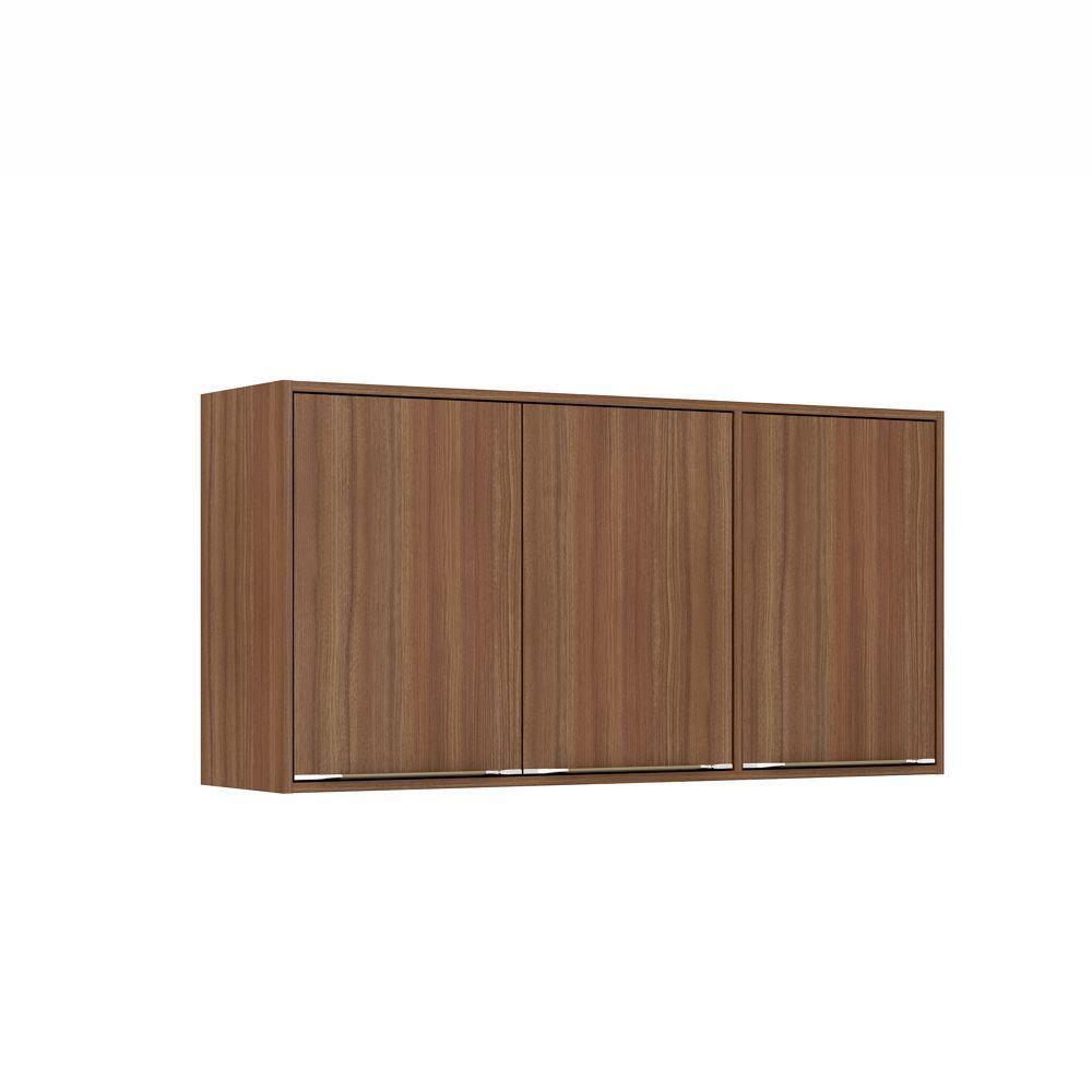 Armário de Cozinha Aéreo 1,20m 3 Portas Calábria 5401 Multimóveis