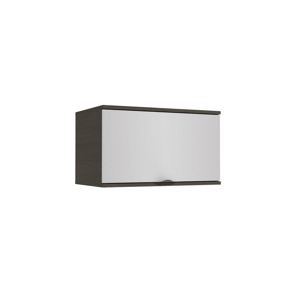 Armário de Cozinha Aéreo 60cm 1 Porta Basculante H790 Nox Kappesberg