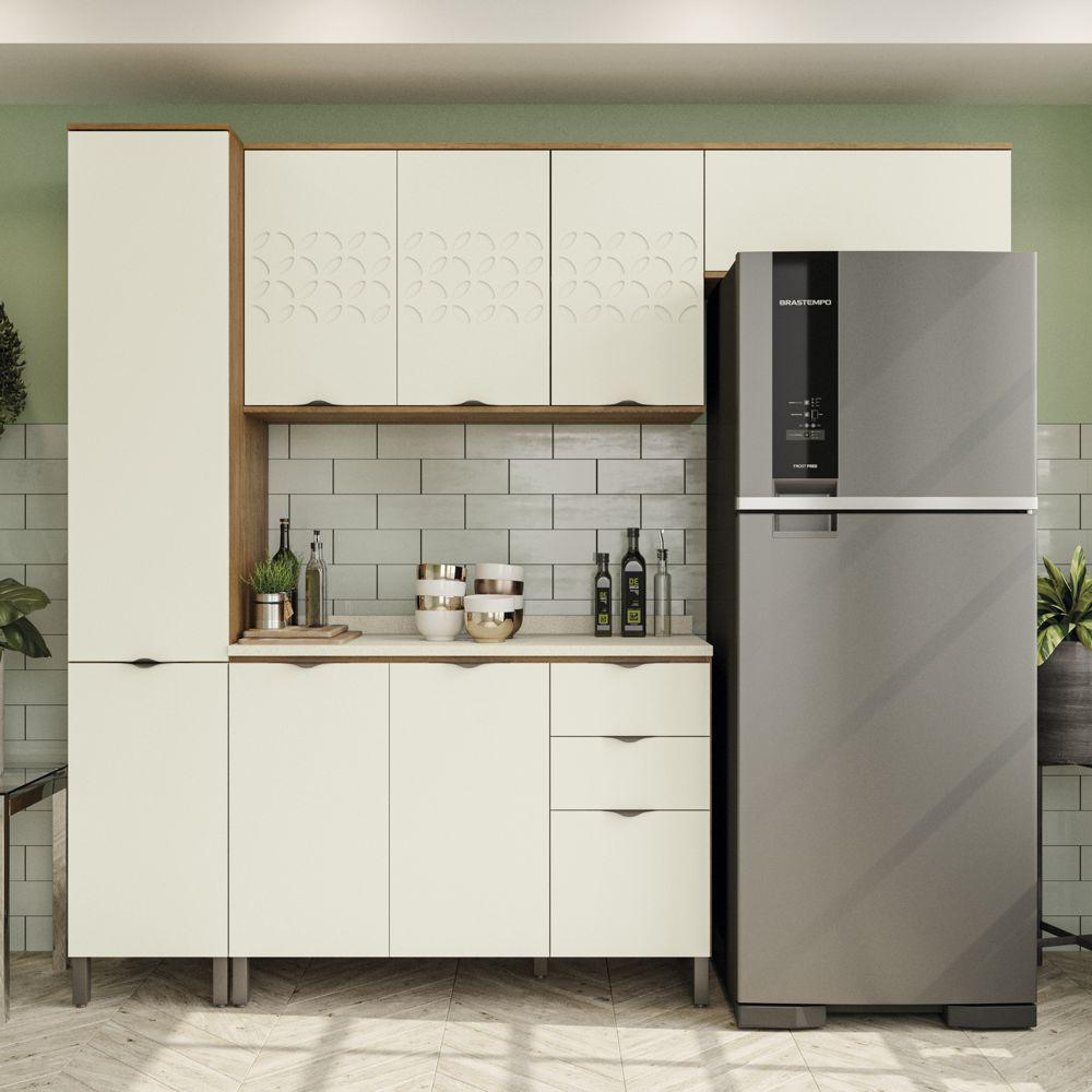 Armário de Cozinha completo 5 peças CB572 Lótus Kappesberg