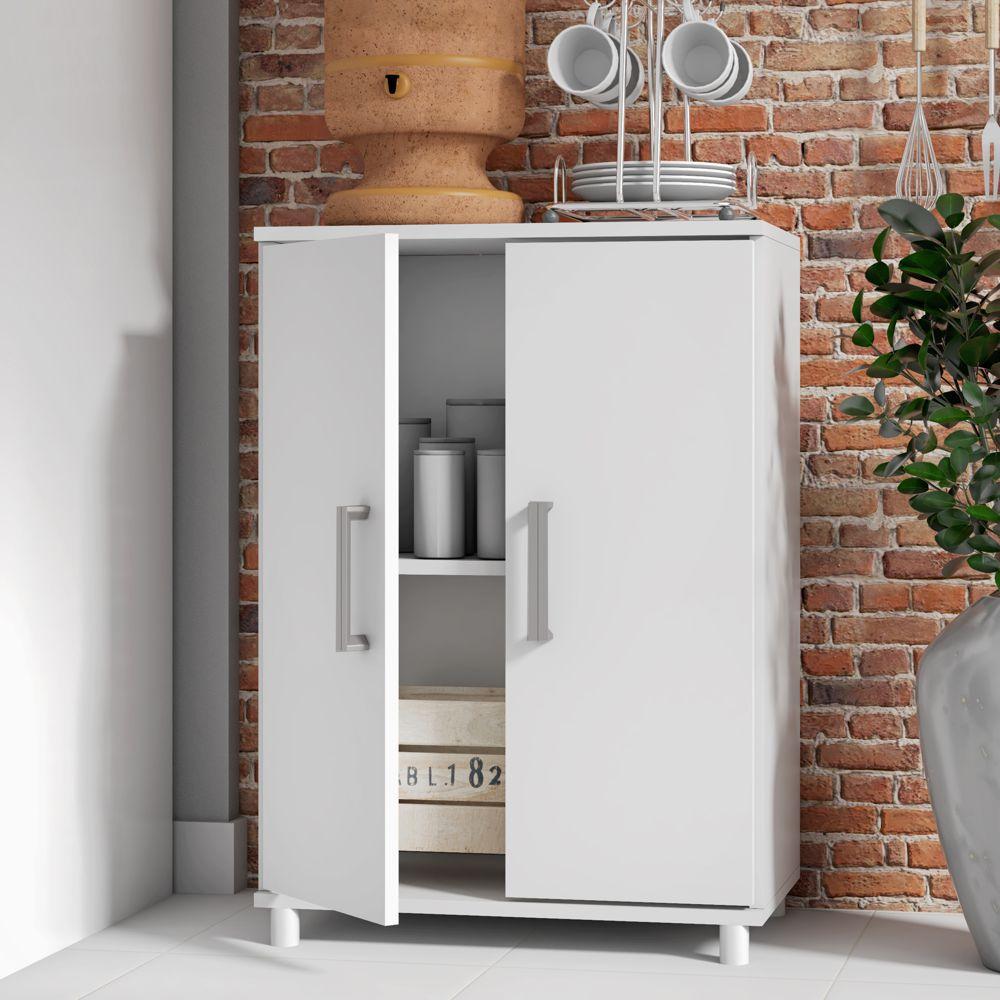 Armário de Cozinha Multiuso 2 Portas 53,5cm BMU 105 BRV Móveis
