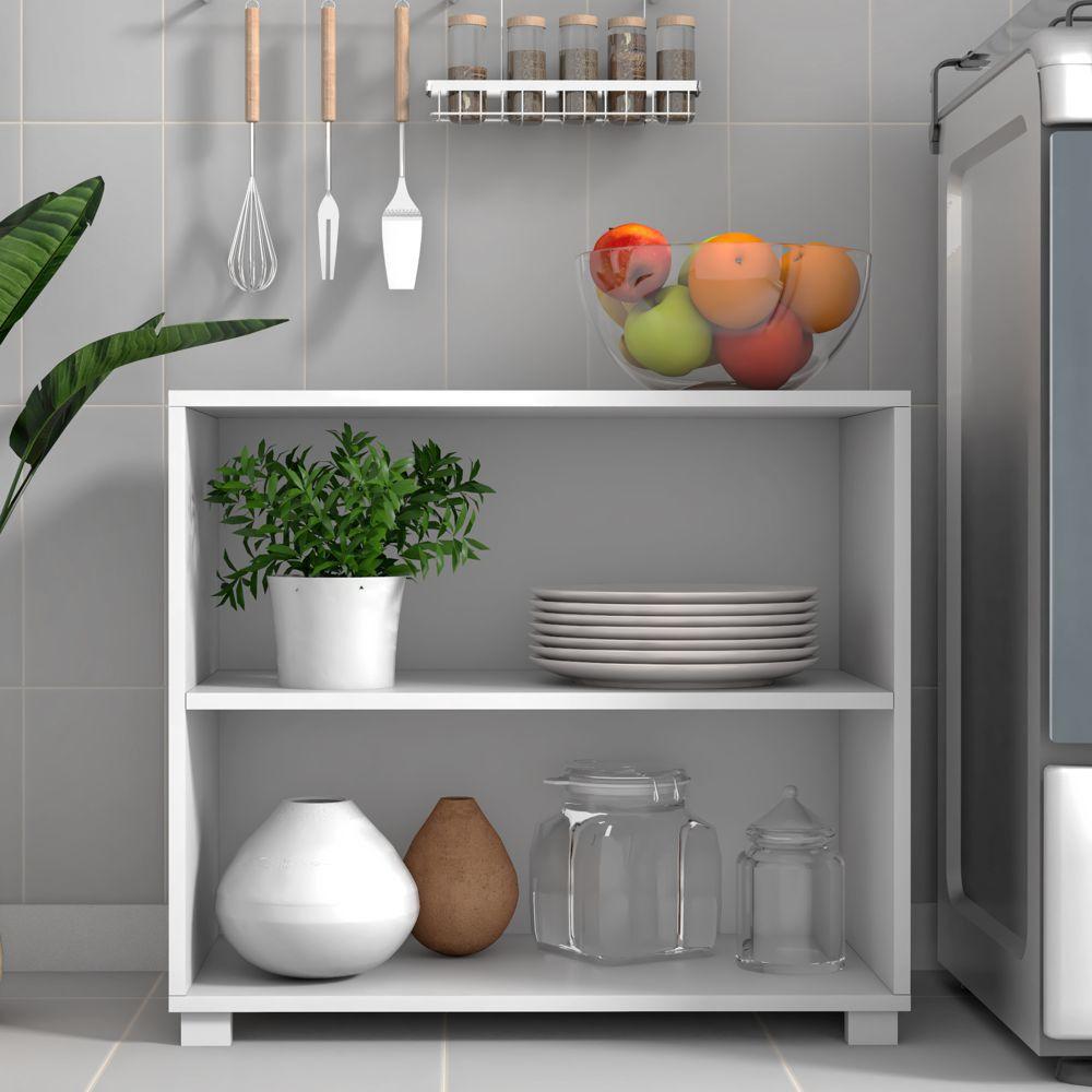 Armário de Cozinha Multiuso 67,5cm BMU 63 BRV Móveis