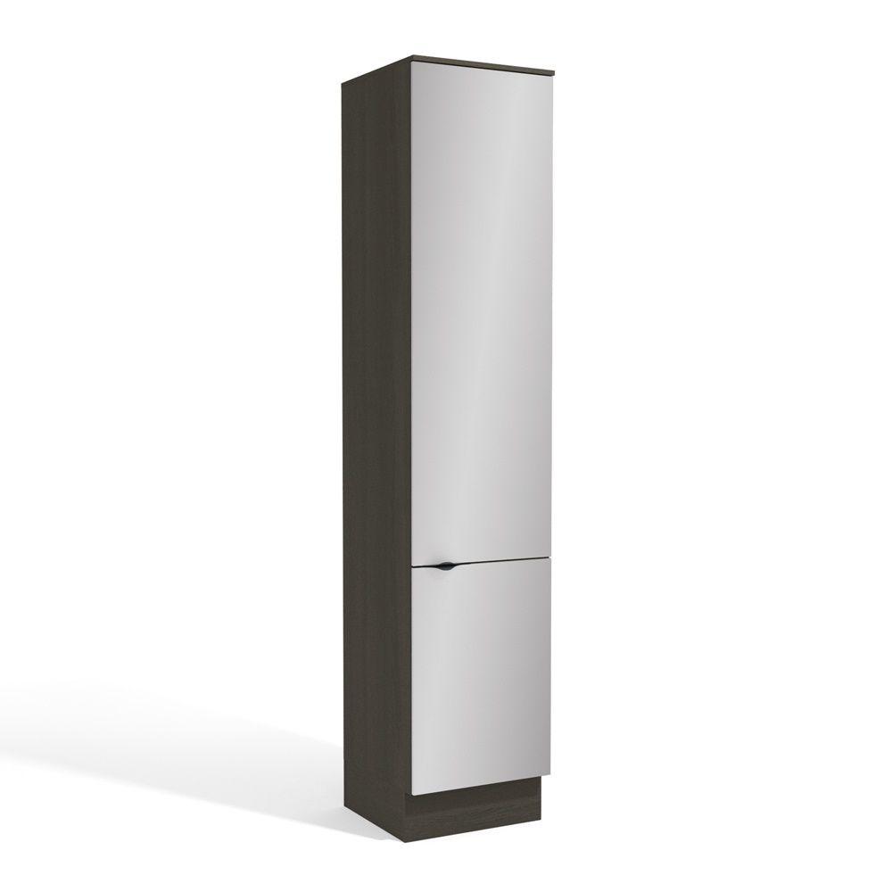 Armário de Cozinha Paneleiro 50cm 2 Portas H769 Nox Kappesberg