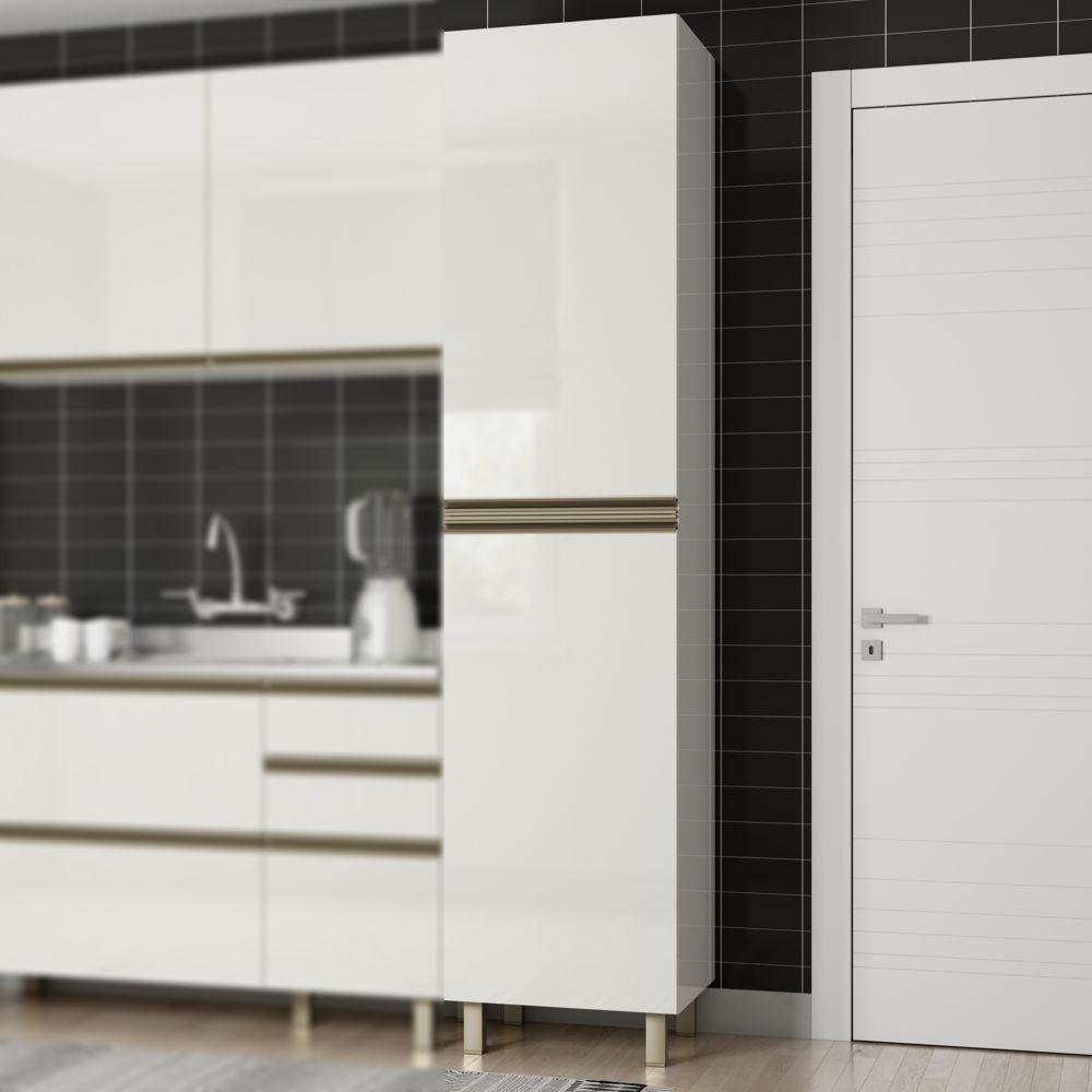 Armário de Cozinha Paneleiro 50cm 2 Portas Vitória K355 Dalla Costa