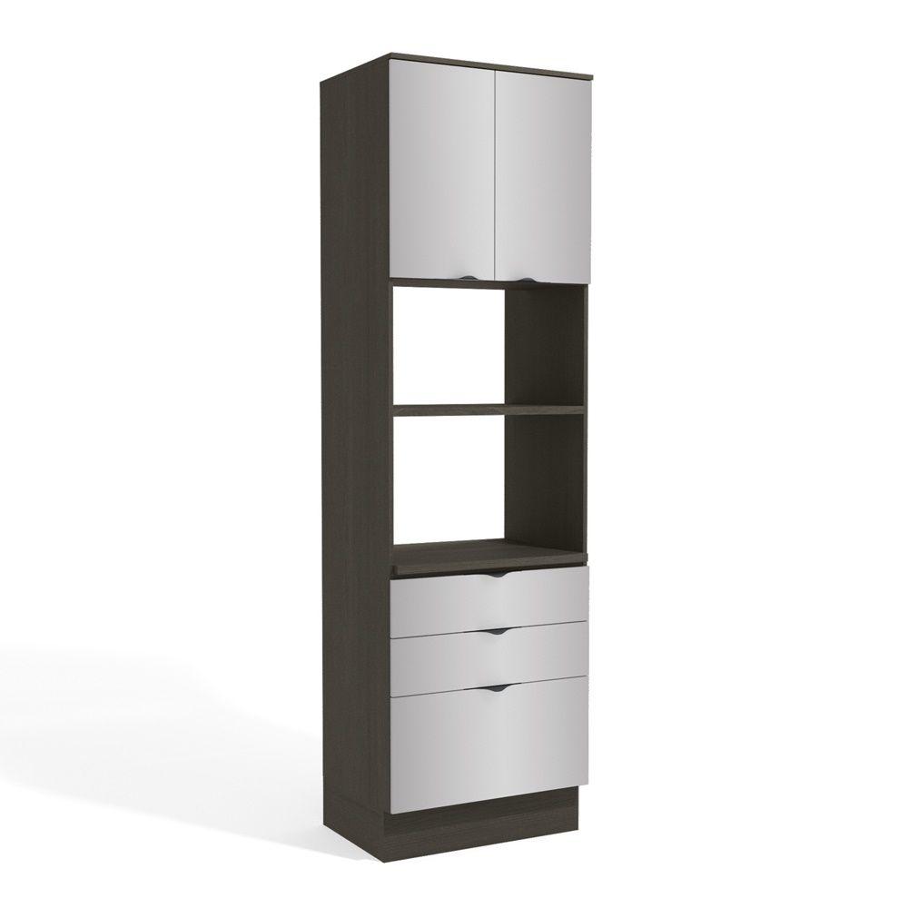 Armário de Cozinha Torre para 2 Fornos 70cm H770 Nox Kappesberg