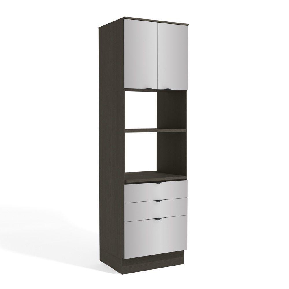 Armário de Cozinha Torre para 2 Fornos 70cm H770A Nox Kappesberg