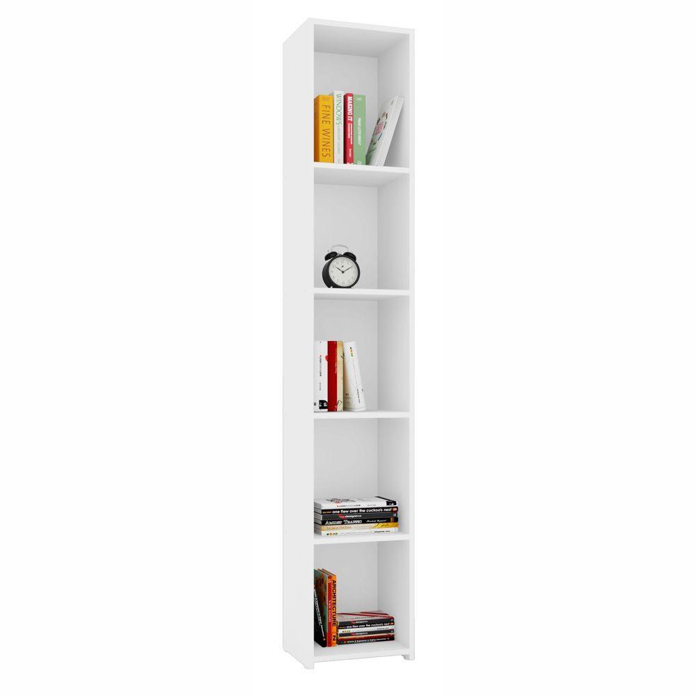 Armário Livreiro Multiuso 5 nichos Estreito MO8300 Art in Móveis