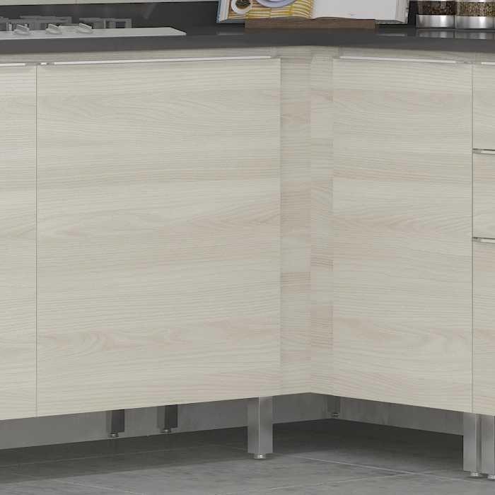 Armário de Cozinha Balcão Canto Reto 98cm Versatti C655 Kappesberg