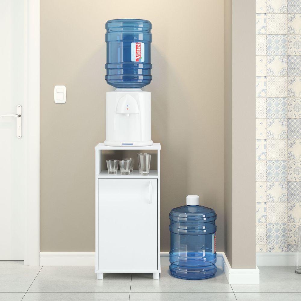 Balcão para água bebedouro cafeteira 42,5cm 1 porta 3012 Politorno
