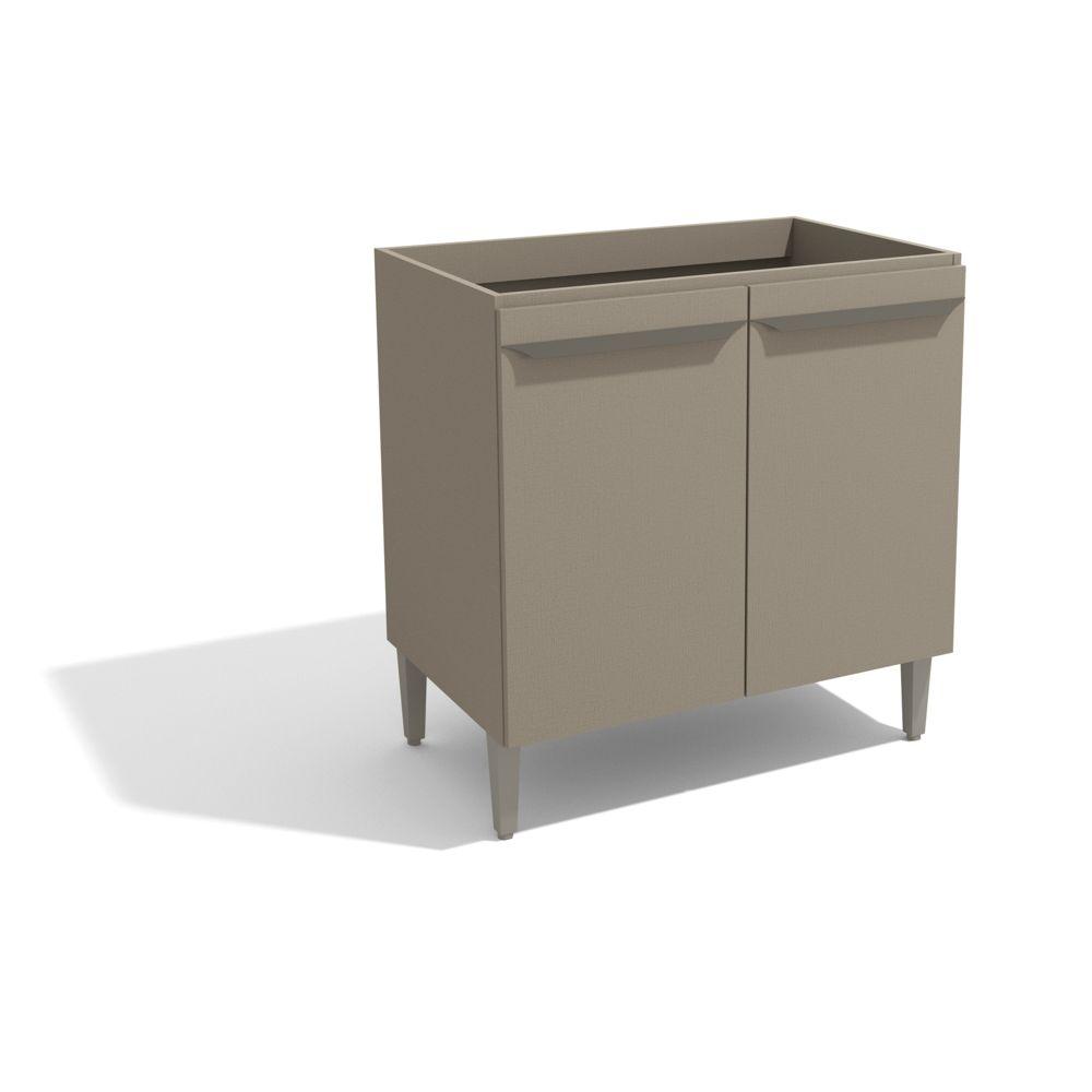 Balcão para Cozinha Modulada 80cm 2 Portas Versa L822 Kappesberg