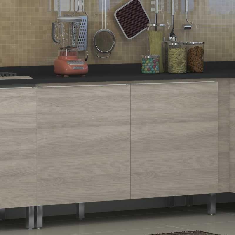 Armário de Cozinha Balcão Pia 1,20m 2 Portas Versatti C648 Kappesberg
