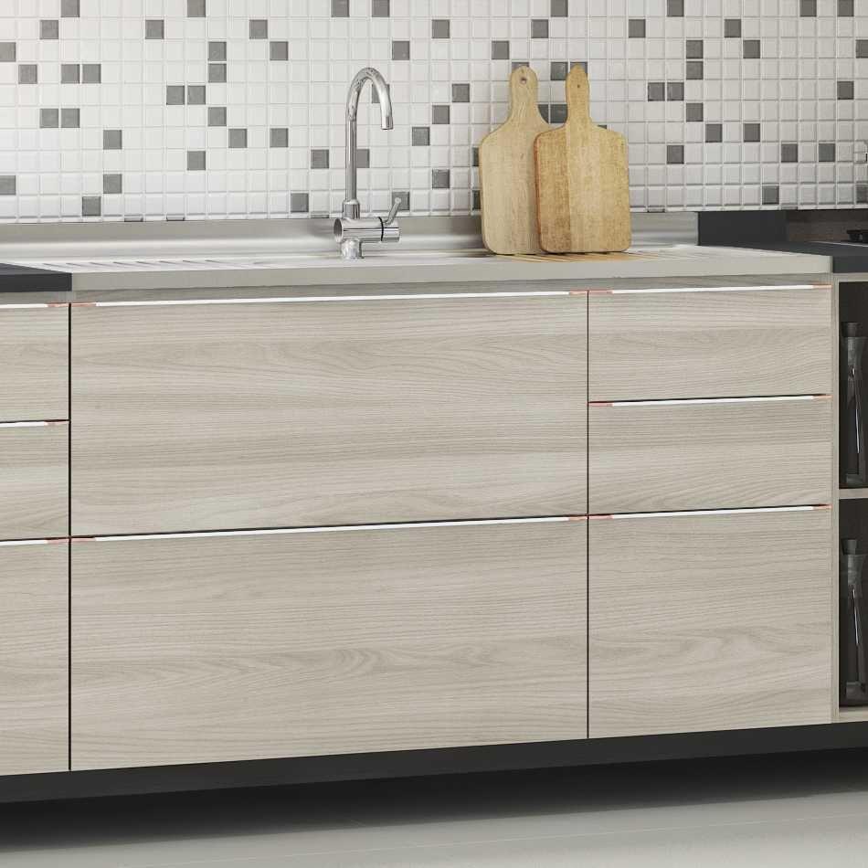 Armário de Cozinha Balcão Pia 1,20m com Gavetas Versatti C654 Kappesberg