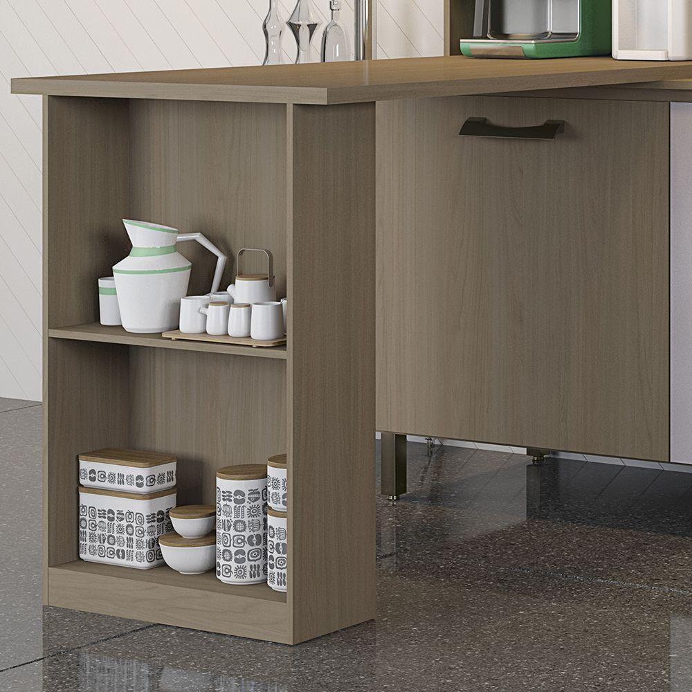 Bancada Para Cozinha Compacta Sense E781 Kappesberg Na M Vel Na