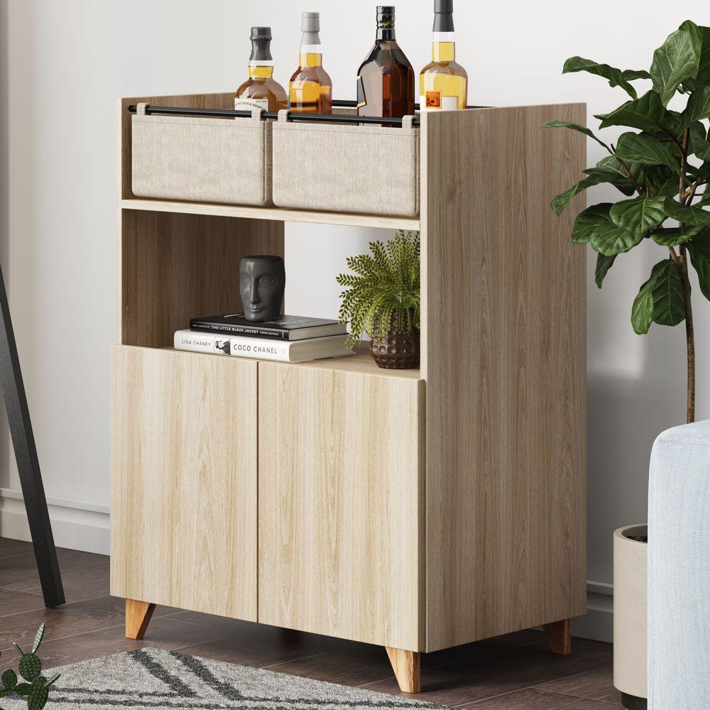 Barzinho Multiuso 2 portas e cestos 70cm 1003 Drink Be Mobiliário
