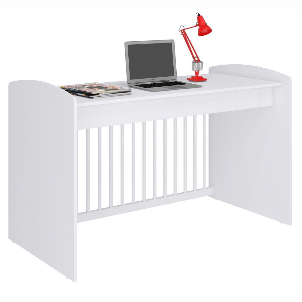 Berço Multifuncional 4x1 Vira Mini Cama, Sofá ou Escrivaninha Ternura BE2005 Meu Fofinho